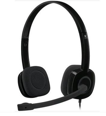 Logitech Stereo Headset H151 (Black)